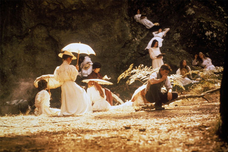 Piknik pod Wiszącą Skałą_kadr filmu