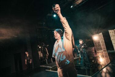 Zdjęcie ze spektaklu KSIĄŻĘ NIEZŁOMNY, fot. P. Nykowski