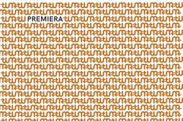 Grafika z napisem PREMIERA