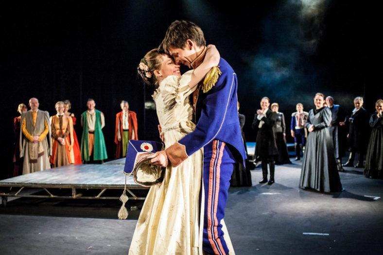 18.05.2012 Szczecin Teatr Wspolczesny proba spektaklu pt. Pan Tadeusz rez. Irena Jun foto Bartlomiej Sowa