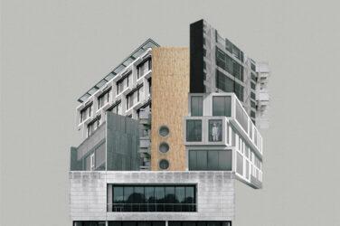 """plakat do spektaklu """"numer 9 mieszkania 13"""" autorstwa Patrycji Żyżniewskiej"""