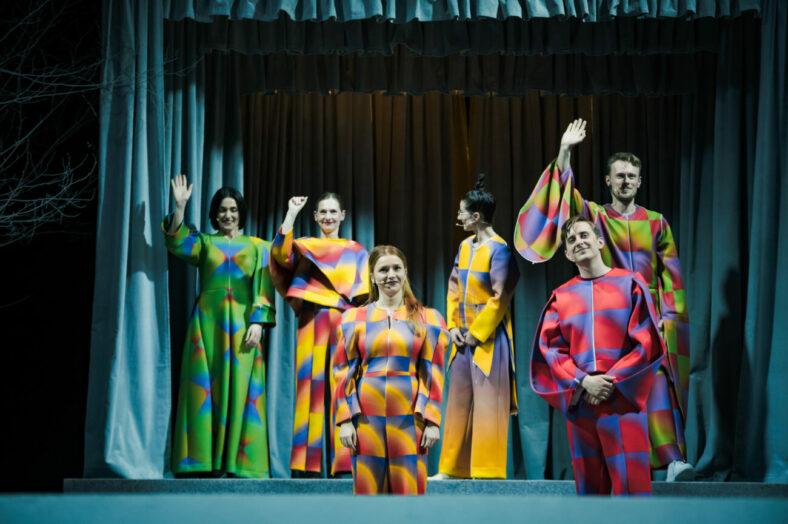 Zdjęcie ze spektaklu KONGRES FUTUROLOGICZNY, fot. P. Nykowski