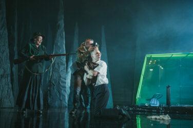 Zdjęcie ze spektaklu KRÓL POTWORÓW, fot. P. Nykowski