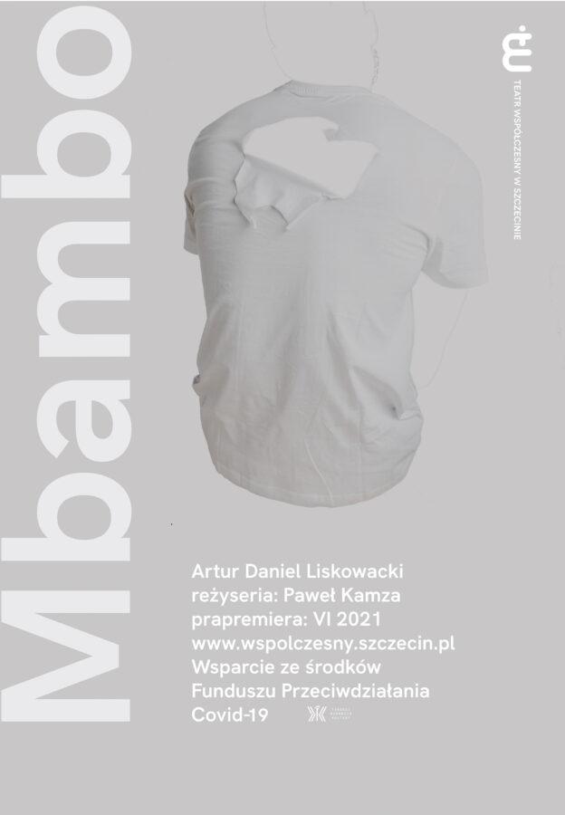 MBAMBO - plakat, projekt: Karolina Babińska