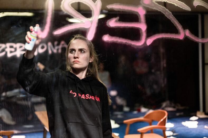 Zdjęcie ze spektaklu LA PASIONARIA, fot. H. Grygielewicz